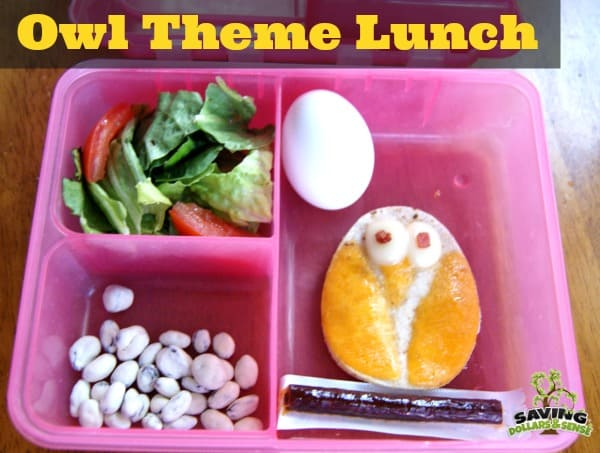 Owl Theme Lunch