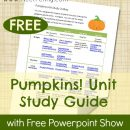 FREE Pumpkin Unit Study