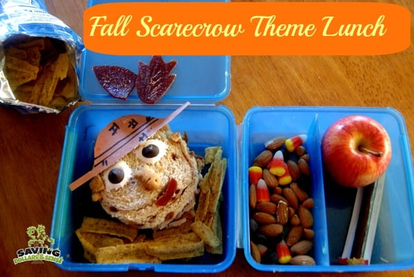 fall scarecrow theme lunch