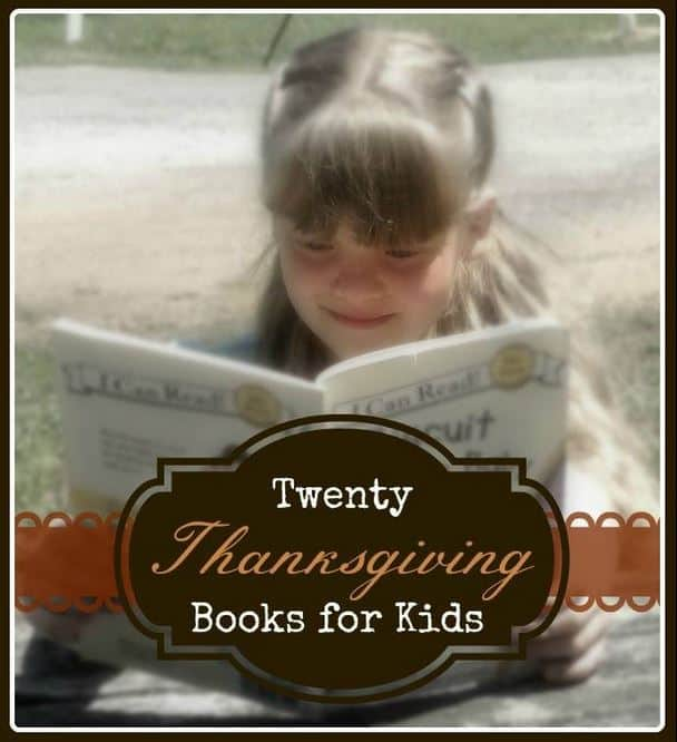 Twenty Thanksgiving Books for Kids