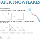 How to Make Paper Snowflakes (FREE Frozen Activity)