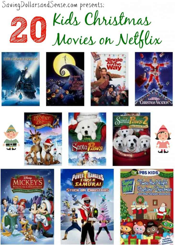 Top 20 Kids Christmas Movies on Netflix - Saving Dollars & Sense