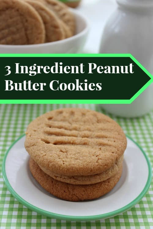 3 ingredient peanut-butter-cookies-recipe