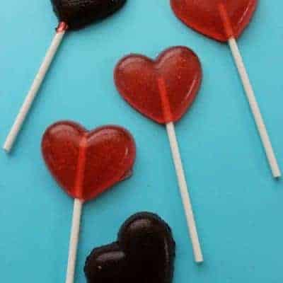 Valentine Suckers Recipe