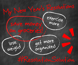 New Years resolution list with Resolution Solution.