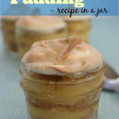 Banana Pudding in a Jar Recipe