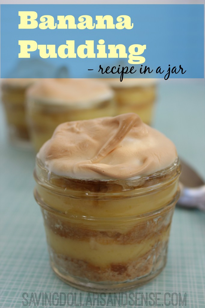 Banana Pudding in a Jar Recipe