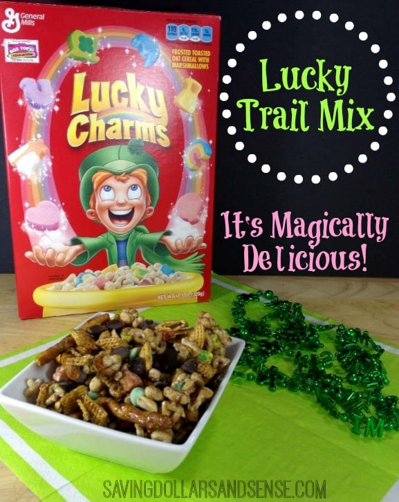 Lucky Trail Mix Recipe