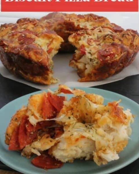 Biscuit Pizza Bread Recipe
