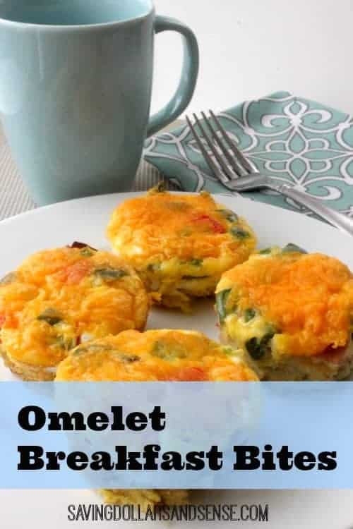 Omelet Breakfast Bites Recipe