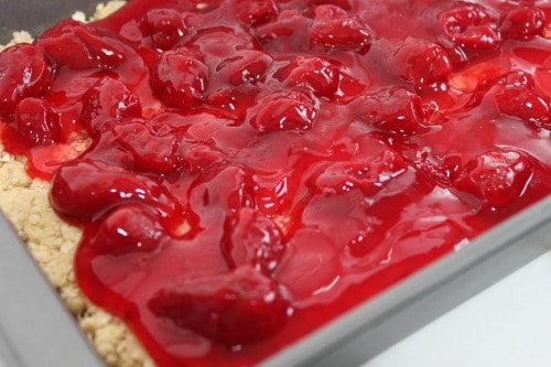 strawberry oatmeal bars 1