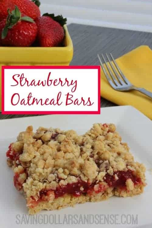 This simple Strawberry Oatmeal Bars recipes is perfect for an ...