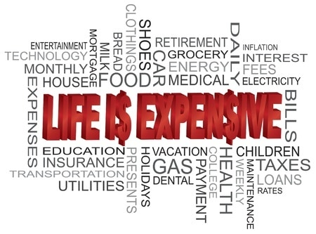 Life is expensive. A living wage calculator.