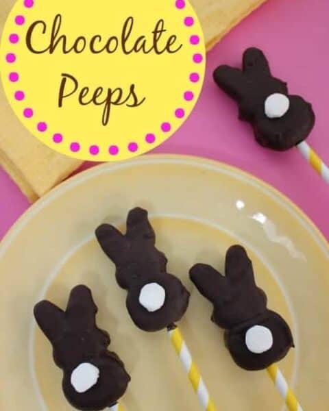 Chocolate Peeps