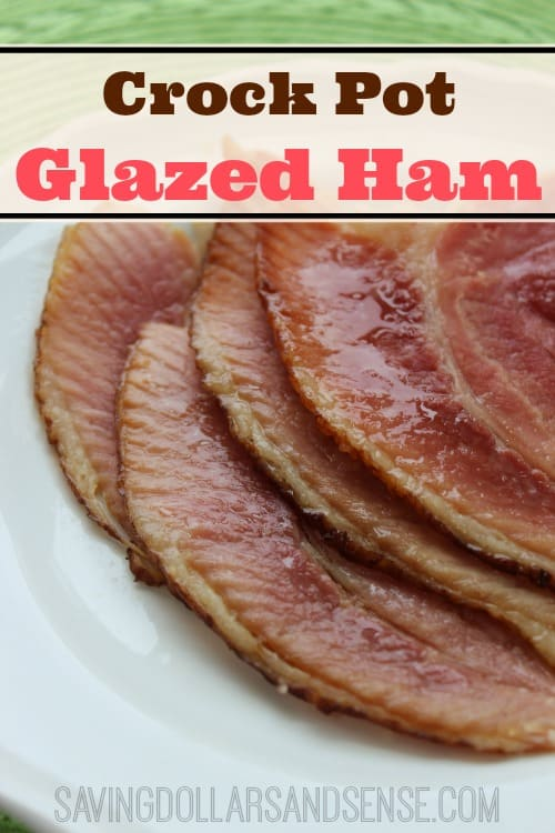 Slowcooker Glazed Ham