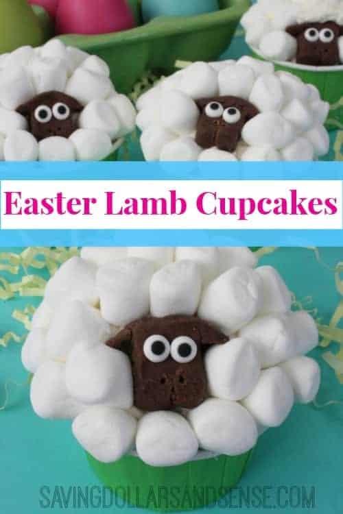 Easter Lamb Cupcake
