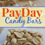 Homemade PayDay Candy Bars Recipe