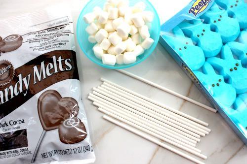 Chocolate Peeps ingredients needed.