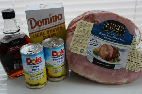 crock pot ham ingredients