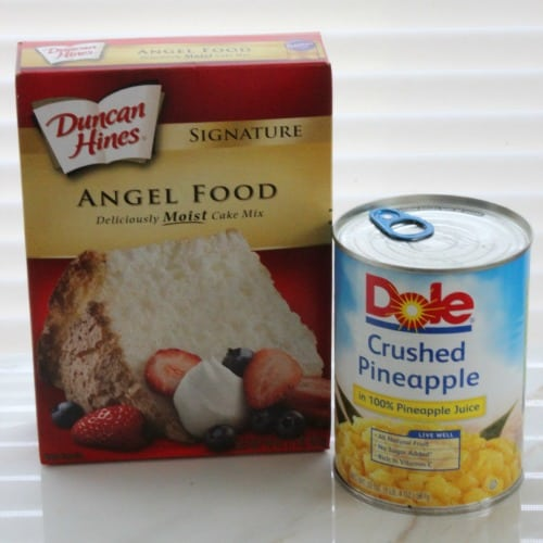 Angel Food Cake Mix Crushed Pineapple Bundt Pan