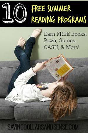 10 free summer reading programs