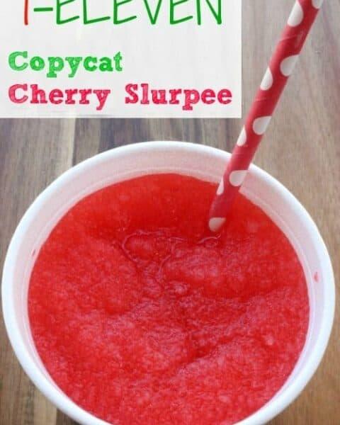 Copycat 7-11 Cherry Slurpee Recipe
