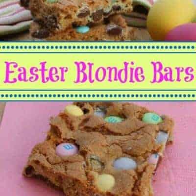 Easter Blondie Bars