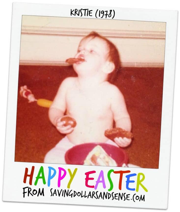 Happy Easter polaroid