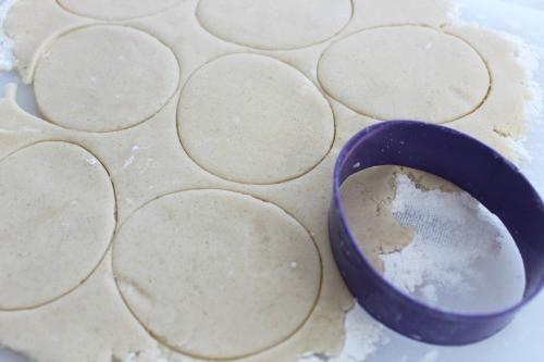 easter bunny cookies dough.