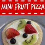 mini fruit pizza recipe