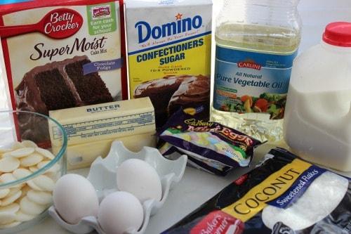 nest cupcake ingredients