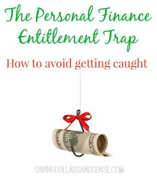 personal finance trap