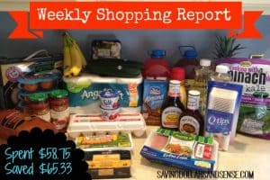 Weekly Shopping Report 4/17