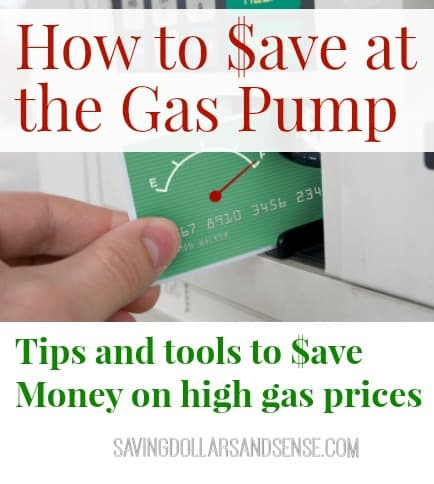 ways to save on gas