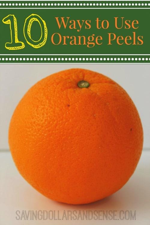 ways to use orange peels