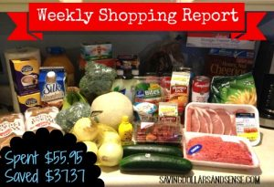 My Weekly Shopping Report 4/11