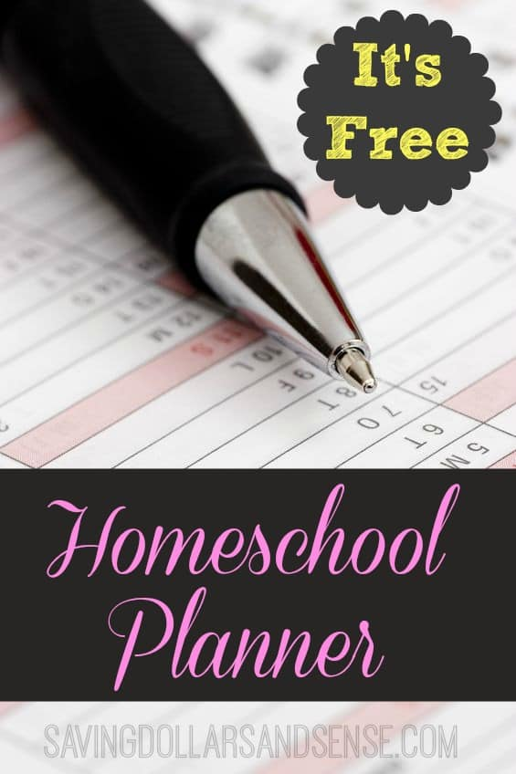 Free Homeschool Curriculum Planner