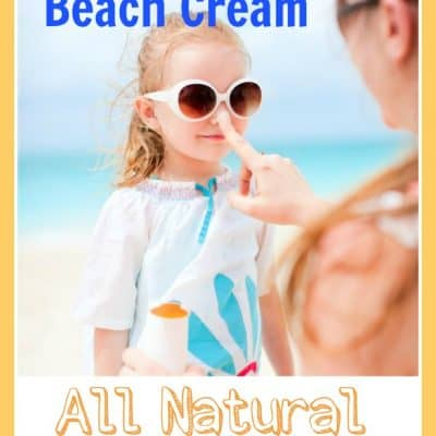 Homemade Beach Cream