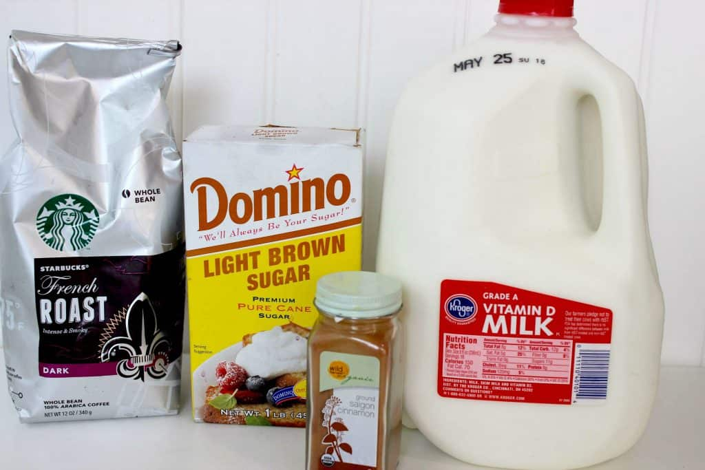 Iced Cinnamon Dolce Latte ingredients