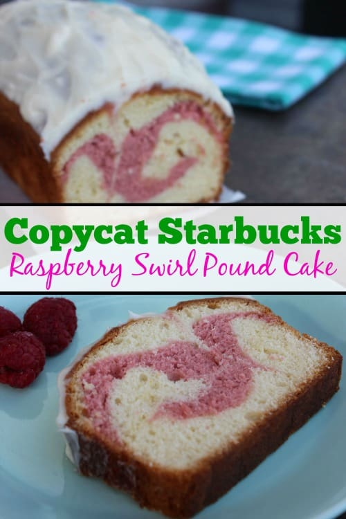 Starbucks Raspberry Swirl Pound Cake Recipe