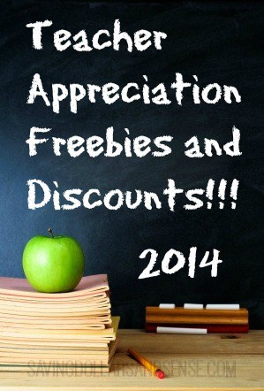 Teacher Appreciation Freebies and Discounts