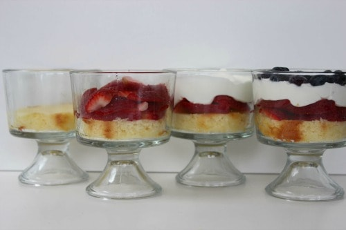 berry trifle process