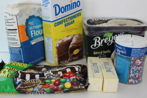homemade ice cream sandwich ingredients
