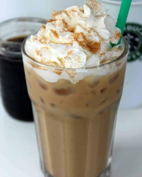 Copycat Starbucks Iced Cinnamon Dolce Latte