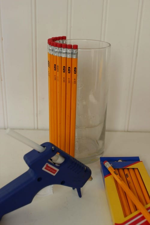 How to make pencil vase.