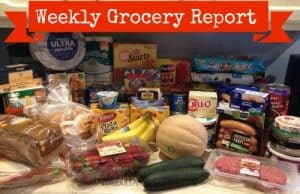 Weekly Grocery Report 5/15