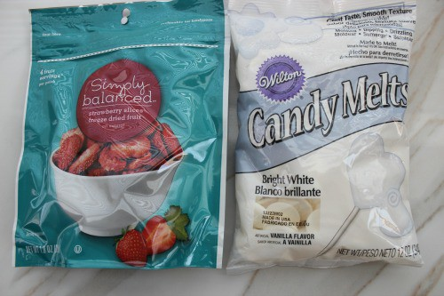 white chocolate strawberry bark ingredients