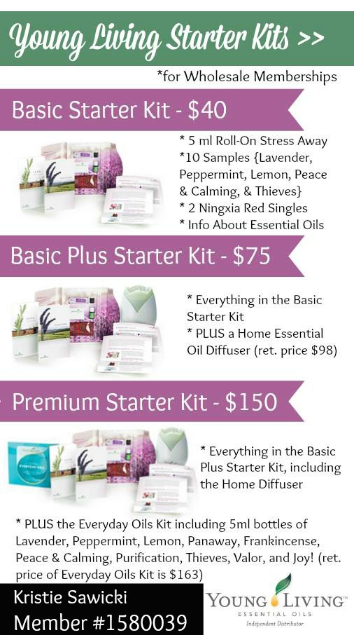 young living oil kits