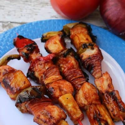 Grilled Chicken Pineapple Kabobs