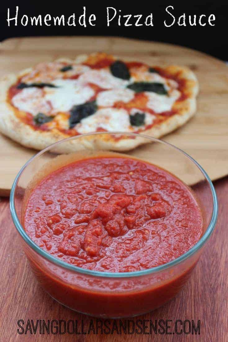 how to make your own pizza sauce